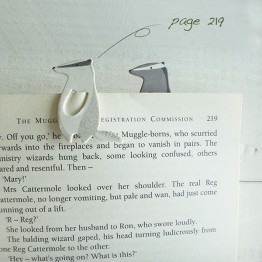 獾-環保紙書籤