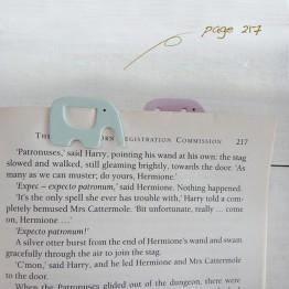 大象-環保紙書籤