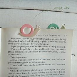蝸牛-環保紙書籤