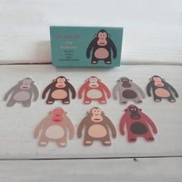 金剛-猴子-環保紙書籤