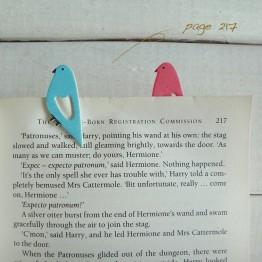 小鳥-環保紙書籤