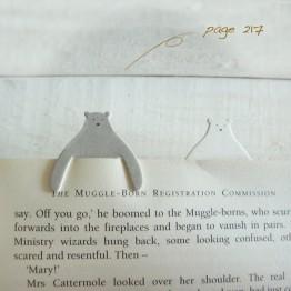 北極熊-環保紙書籤
