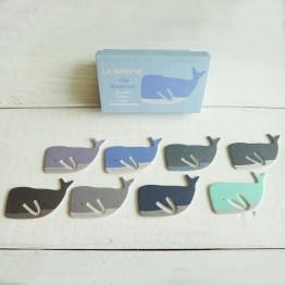 鯨魚-環保紙書籤