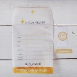 飛行信封袋-哥本哈根