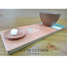 實木早餐盤-早餐咖啡-小